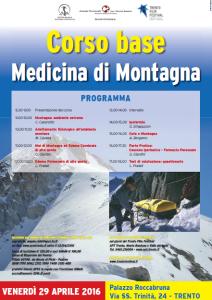 corso medicina di montagna trento