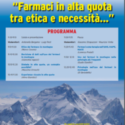 Farmaci in Alta Quota  Trento 2017