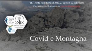 Locandina Evento Covid-19 e Montagna